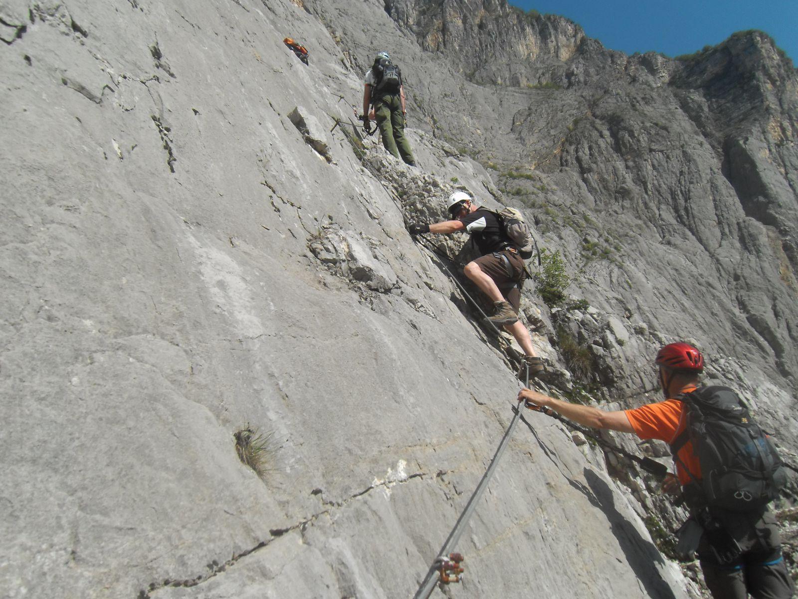 Klettersteig Nochern : Klettersteige am gardasee  dav landau