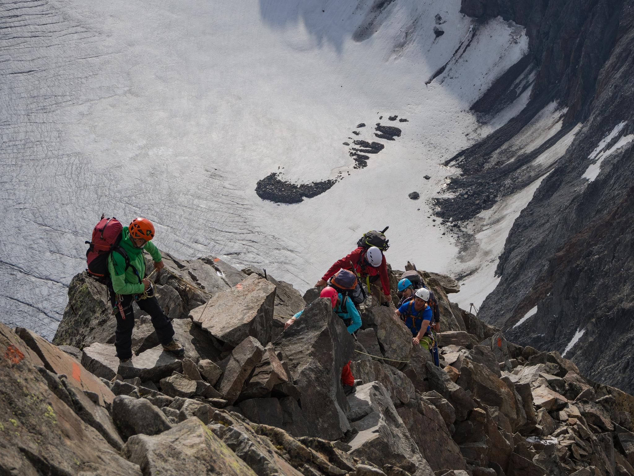 Klettersteigset Funktionsweise : Bergsteigen dav landau